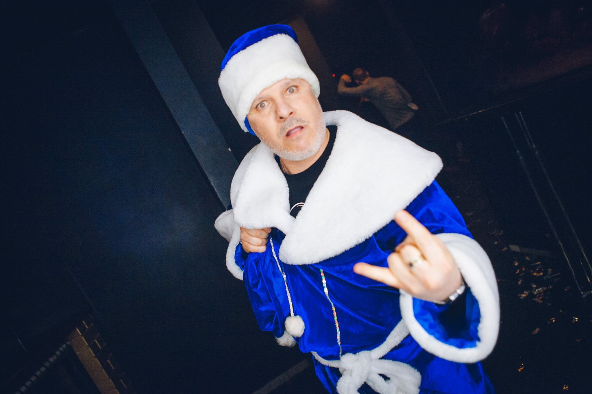 Сергей Федотов на новогоднем корпоративе