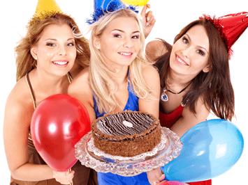 дни рождения и корпоративы